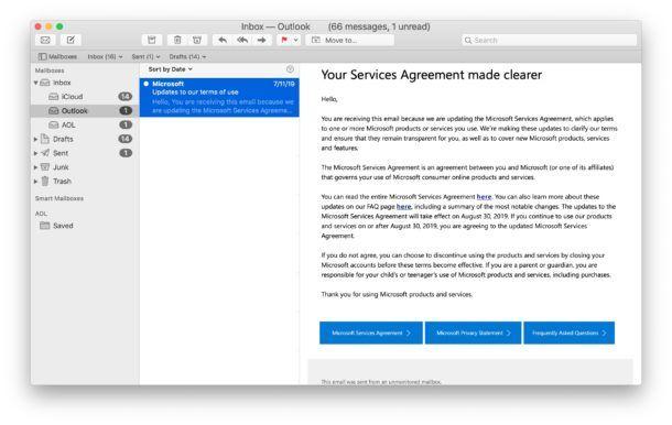Mac Mail uygulamasında bir e-postayı okunmamış olarak klavye kısayoluyla işaretleme