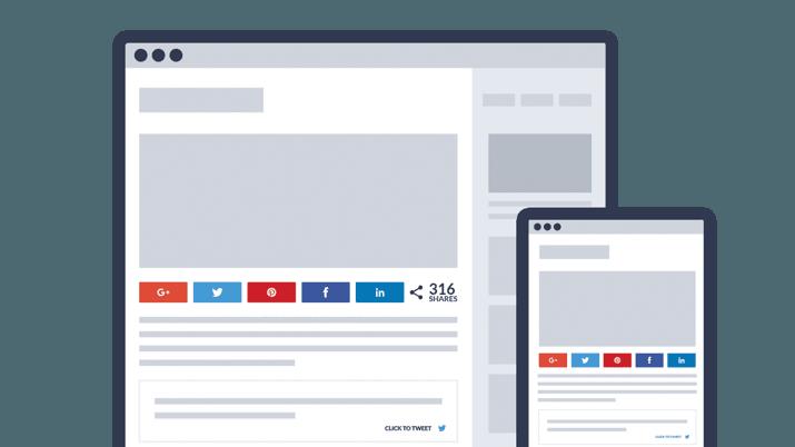 10 En İyi Sosyal Medya Paylaşımı WordPress Eklentileri 5