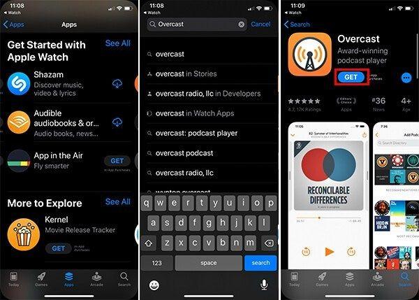 App Store'dan Doğrudan İndir Apple Watch Uygulaması