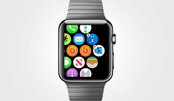 Apple Watch'taki App simgelerini yeniden düzenleme
