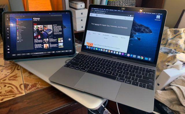 Mac ve iPad'de evde sepet kullanma