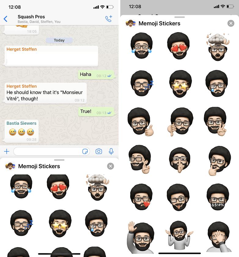 androidpit memoji whatsapp