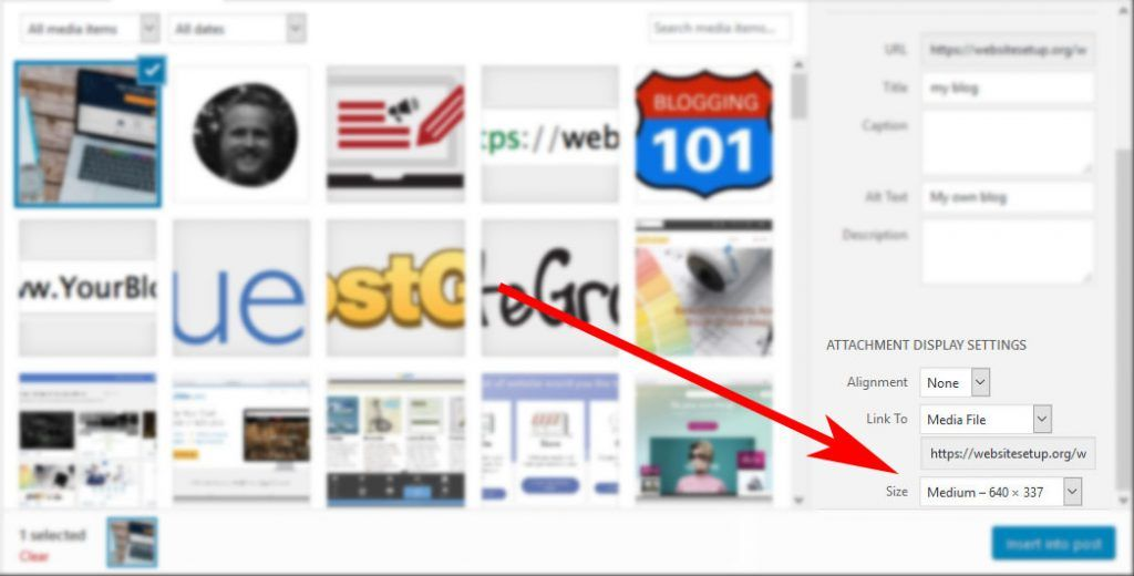wordpress hızlandırmak için doğru görüntü boyutunu kullanın
