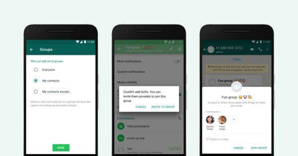 Özel Sohbet ile WhatsApp Grup İfadesi