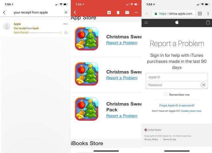 İTunes ve App Store satın alımları için geri ödeme alma.