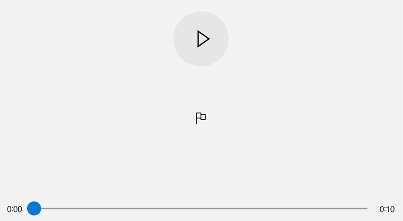Windows Ses Kaydedici Düğmesi