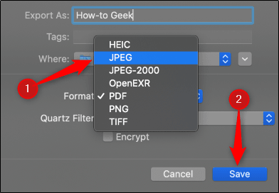 JPEG olarak dışa aktar
