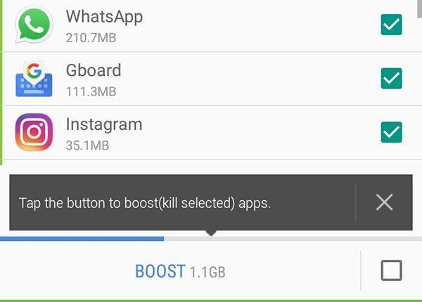 Android'de Arka Plan Görevlerini Öldür