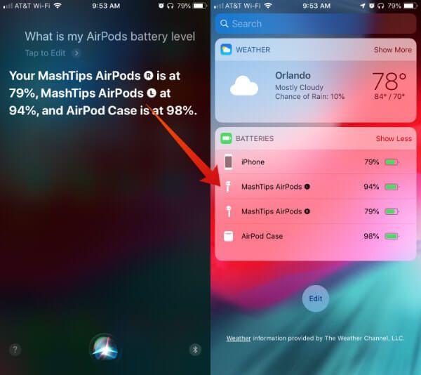 Siri AirPods AirPods Kasa Pili