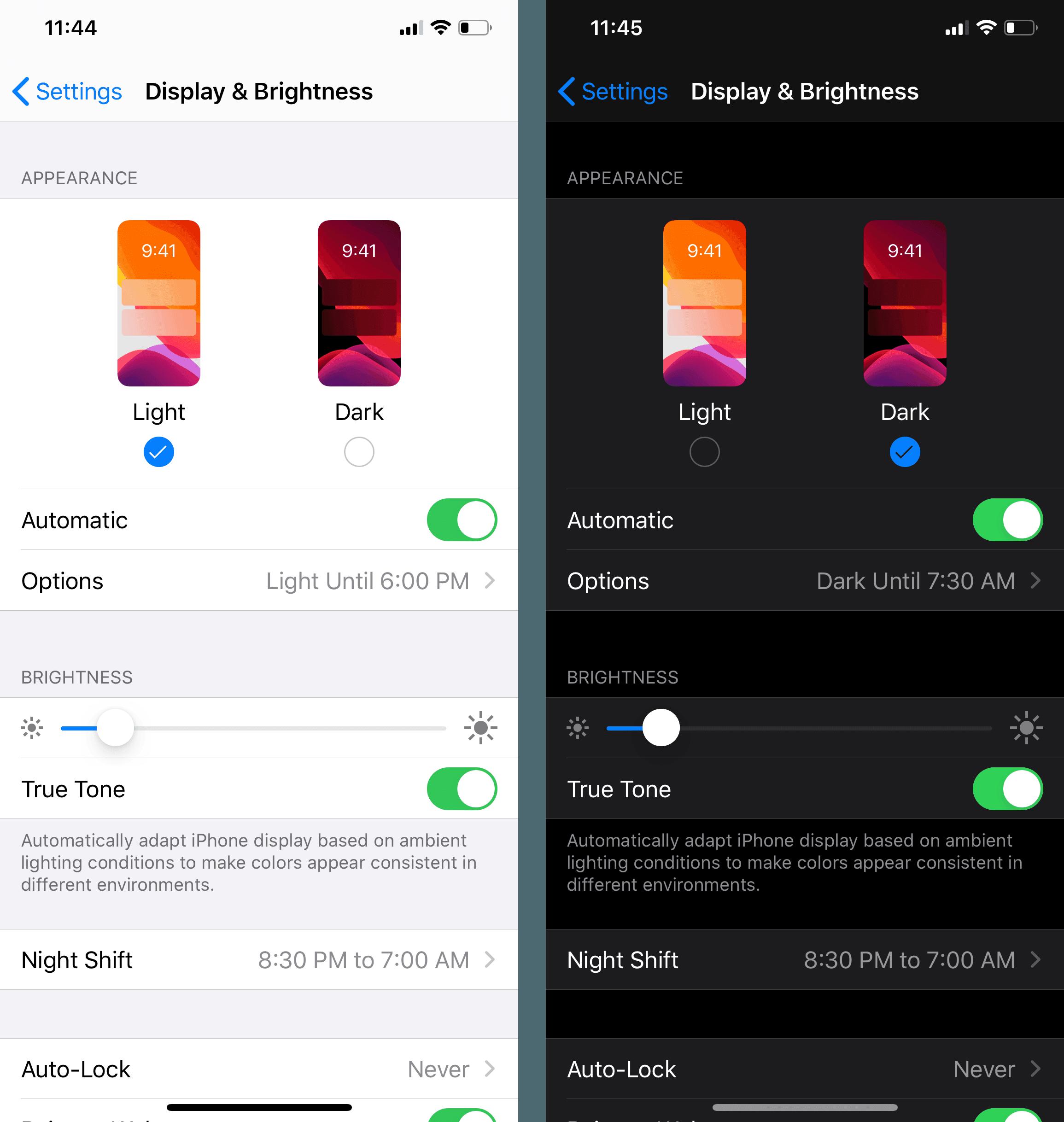 iPhone'da klavye rengini değiştirme