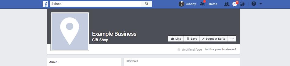 Facebook Sayfasını Sahiplen