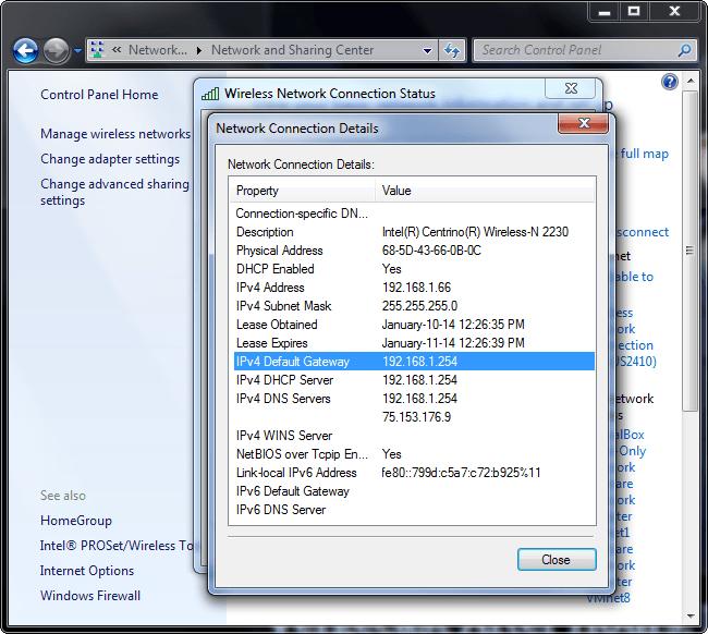 bulmak-yönlendirici-IP adres