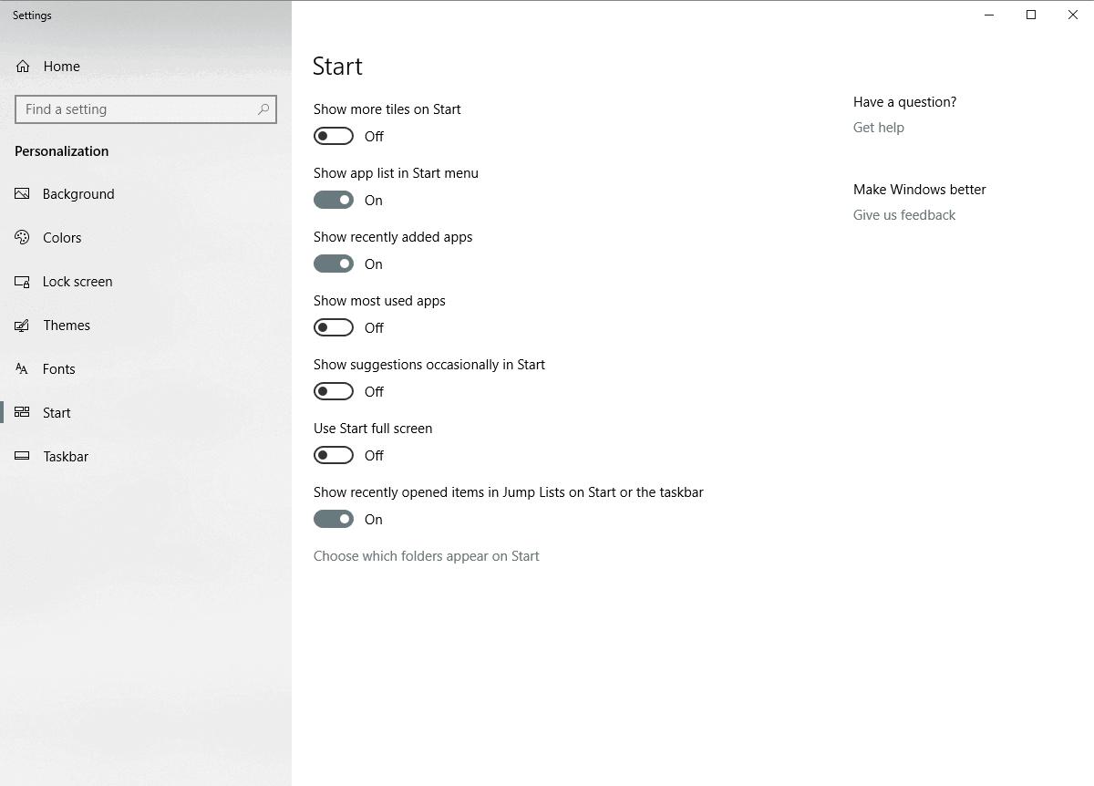 Windows 10 göstermeyen masaüstü simgeleri