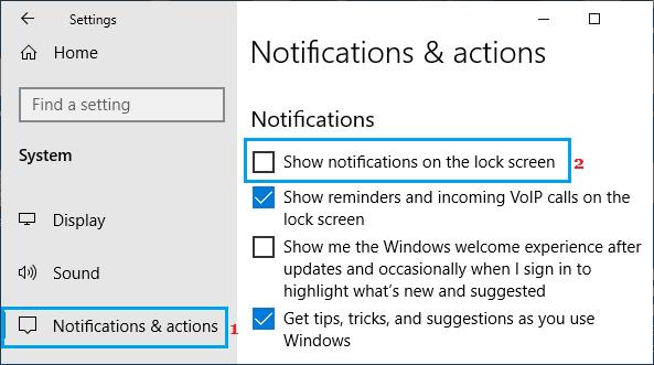 Windows PC'de Kilit Ekranı Bildirimlerini Devre Dışı Bırakma