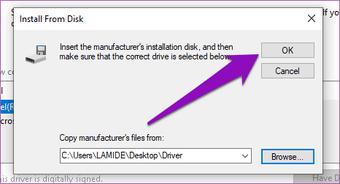 Yüklenen düzeltme sürücüsü bu bilgisayar için doğrulanmadı windows 10 08