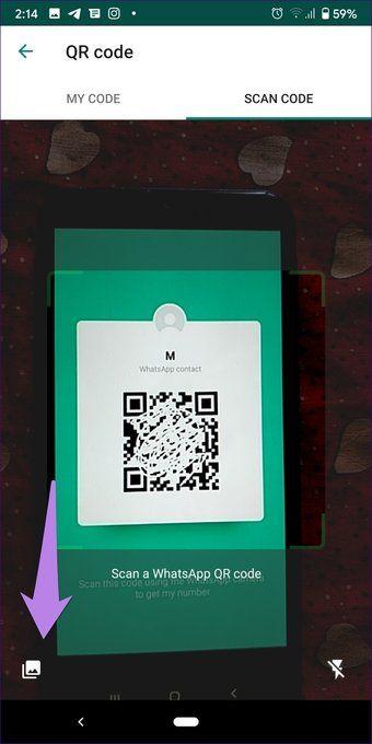 6a numarasını kaydetmek için whatsapp qr kodu nasıl kullanılır