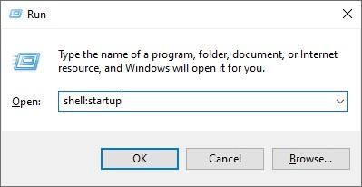 Windows 10 Başlangıç Klasörü Konumu