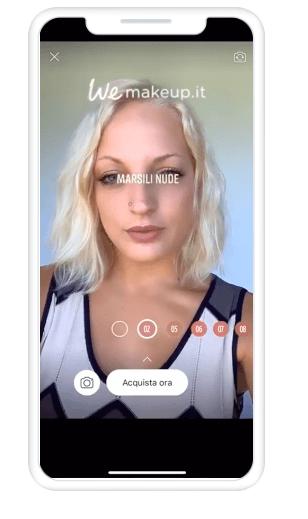 Facebook'ta AR reklamı