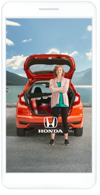 Honda'nın Facebook Hikayeleri reklamı