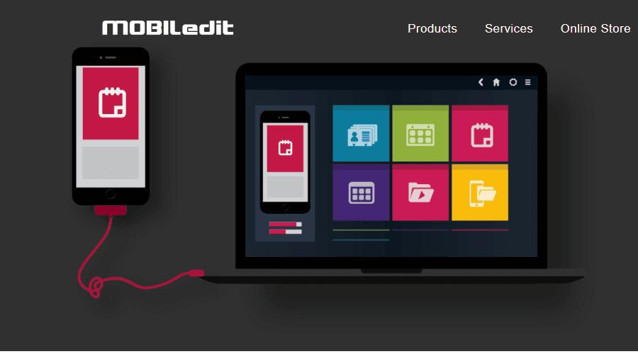 MOBILedit pc için android yedekleme yazılımı
