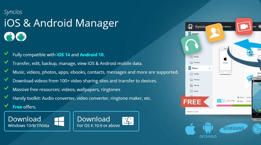 SyncDroid pc için android yedekleme yazılımı