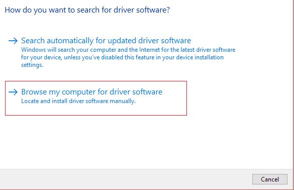 sürücü yazılımı için bilgisayarıma göz at