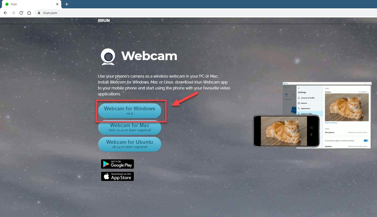 Windows 10'da akıllı telefonunuzu web kamerası olarak kullanma