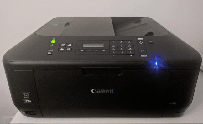 Canon tarafından üretilen bir kablosuz yazıcı