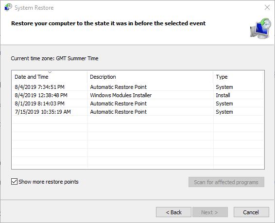 Uygulamanın grafik donanımına erişmesi engellendi