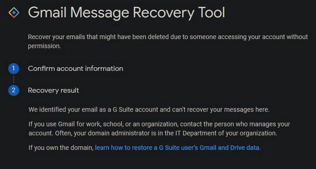 Gmail'de Kalıcı Olarak Silinmiş E-postaları Kurtarın