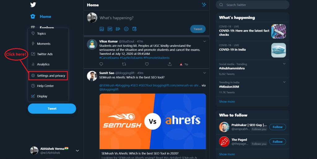Silinen tweet'ler nasıl bulunur-3
