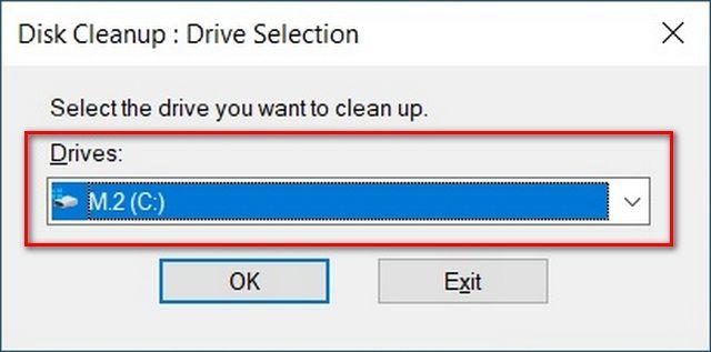 Disk temizleme