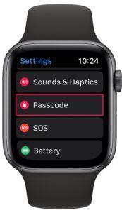 Apple Watch Parolası Nasıl Değiştirilir