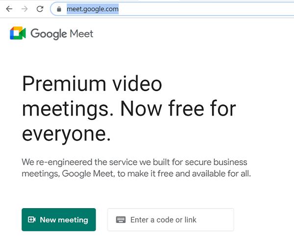 google çevrimiçi buluşuyor