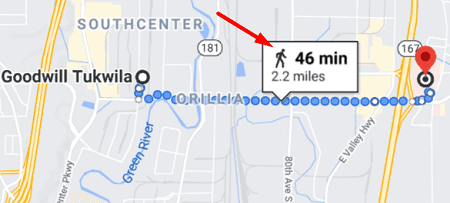 google-maps-distance-information